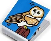 Owl Metal Clip Magnet