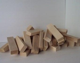 SALE!! Solid Maple Wood - DIY - Cutting Board - Butcher Block - Hardwood - Unfinished - Crafting Blocks