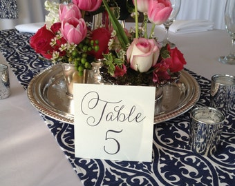 Wedding Table Numbers, 1-20 - INSTANT DOWNLOAD