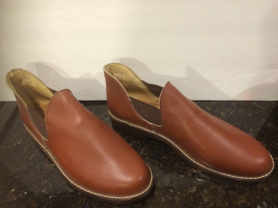 Vintage Mens Brown Shoes