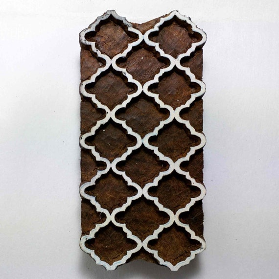 marokkanische holz stempel drucken. Black Bedroom Furniture Sets. Home Design Ideas