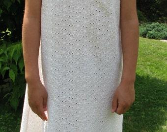 Repurposed Girls Dress - Refashioned Girls Dress - Size 3 T / 4T / 5 T / 6T