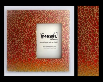 Setting Sun - 5x7 Glass Mosaic Picture Frame