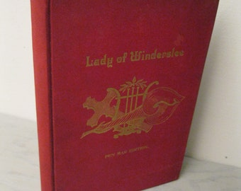 Antique Poetry Book - The Lady Of Winderslee: A Saintly Romance and Other Poems - 1892 - Pen Mar Edition