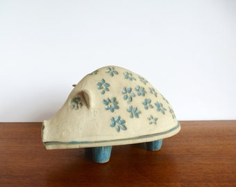 Vintage Bennington Potters David Gil Ceramic Piggy Bank