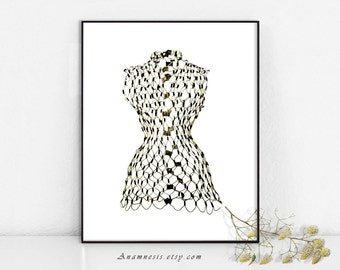 Wire dress form | Etsy