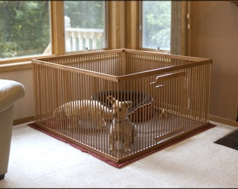 Furniture Quality Small Dog Exercise Pen By Kennelmaster