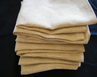 Wholesale lot 6 Washcloths Pure Flax Linen Natural Gray Wash Cloths Bathroom