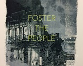 Foster the People Screenprinted Poster