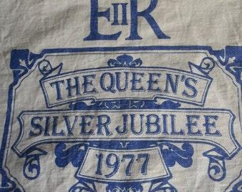 Queens Silver Jubilee 1977 Cotton Bag