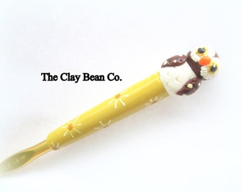 NEW Owl Crochet Hook- Bates size J