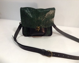 Ladies Night Green Purse Small Women Bag For Weekend night