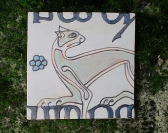 Handmade Book of Kells Pan Trivet