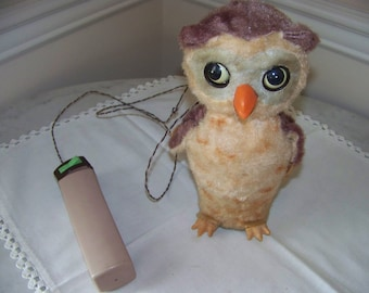 Owl toy Rock Valley Tech co Japan