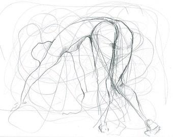 Figurative Pencil Sketch