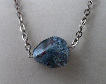 Dark Ocean Jasper Necklace
