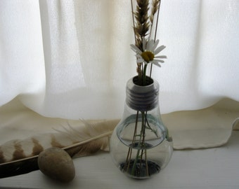 Freestanding Light Bulb Vase