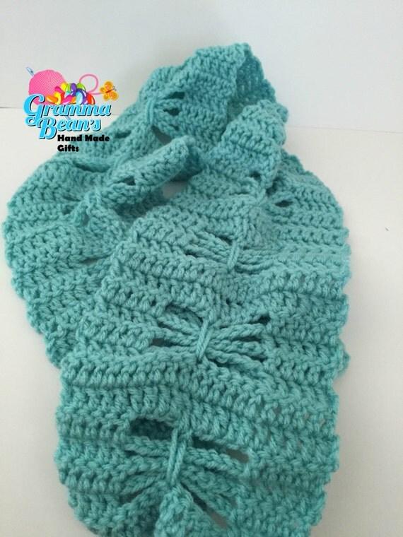 Crochet Butterfly Shawl Free Pattern : Butterfly Dreams Crochet Scarf