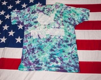 WOODSTOCK 1994 Tie Dye T-Shirt Size XL