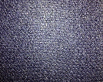 Heavyweight Navy Blue fabric, possible wool blend.