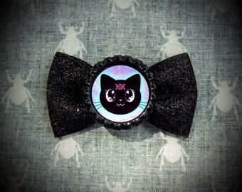 Lunar Kitty hair bow