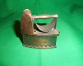 One (1),  Durham Industries, Miniature Die Cast, Flat Iron, Item No, 5405, American Greetings Corp.