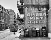 Mint Julep - New Orleans French Quarter photography print
