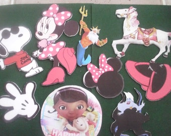 Any Character Double-sided Foam Board Cutouts for centerpieces