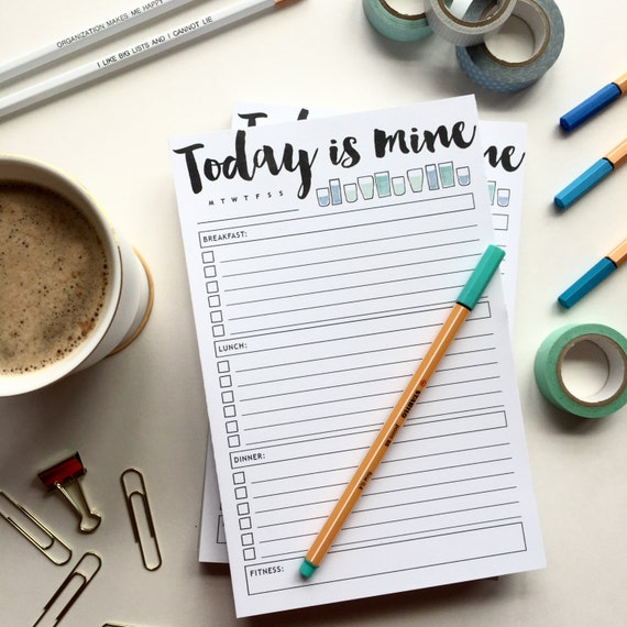 Today is Mine Notepad - Single