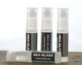 Seaglass Perfume Oil Roll On - salt water scent perfume oil - unisex perfume oil -fresh scent perfume - summer perfume