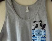 Fun Fabric Panda Pocket Tank