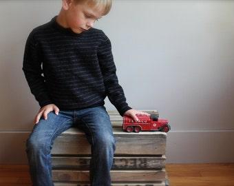 Child's Merino wool top, merino wool base layer, Child's merino wool sweatshirt, child 5-6