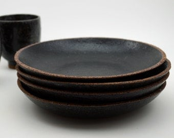 Ceramic Pasta Plate - Pottery Plate - Pasta Plate - Made to Order