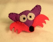 Fox Cutie Catnip Toy - Hand Cut & Sewn - You Pick The Color