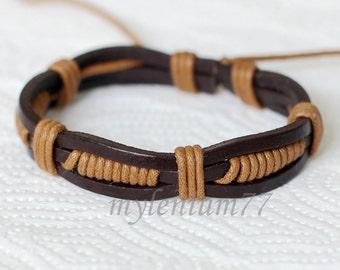 516 Men bracelet Women bracelet Bands bracelet Cords bracelet Ropes bracelet Bangle bracelet Leather bracelet Fashion bracelet