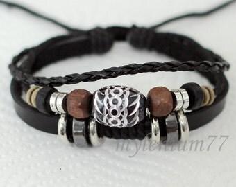 084 Men bracelet Women bracelet Beads bracelet Rings bracelet Leather bracelet Braided bracelet Woven bracelet Fashion bracelet