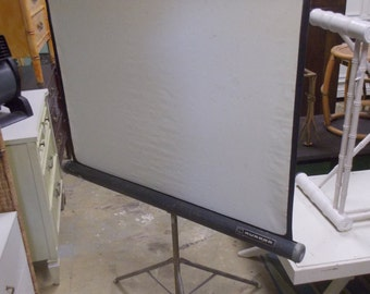 Vintage 1950's era Movie projector screen by Aurora
