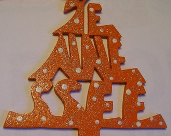 Tennessee ornament, tree shaped