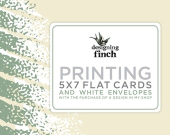 Printing for Invitations or Announcements