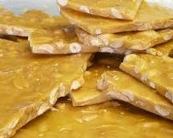 Cashew Brittle  Candy Made Fresh To Order Buttery Cashew Brittle