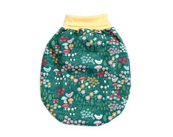 Girl sleeping bag, organic baby sleep sack, baby girl blanket, organic girl bedding, baby shower gift, baby gift, baby pickler