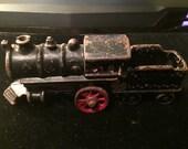 Antique Cast Iron Toy Train Locomotive