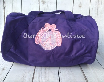 Personalized Dance Bag - Monogrammed Dance Bag - Gym Bag - Gymnastics Bag - Personalized Bag -