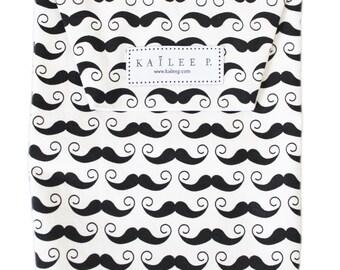 Mustache Diaper Pouch