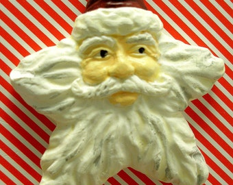 Hand Painted Santa Christmas Ornament
