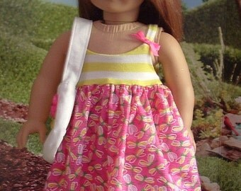 Dragonflies Sundress for American Girl Dolls
