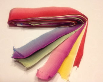 wired dyed scrap booking ribbon (HR45)