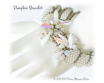 Tutorial Pumpkin Shaped Bracelet