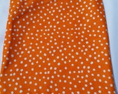 Orange with White Polka Dots. Wet/Dry Bag Wet or  Swimsuit Bag and Eco-Friendly *CLEARANCE*