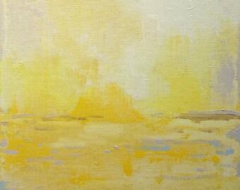 Ashley River in Lemon 2-- Impressionist Painting of landscape